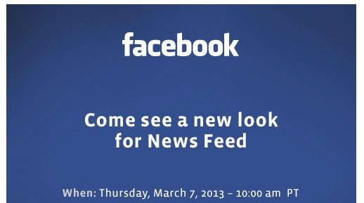 FB News Feed Invite