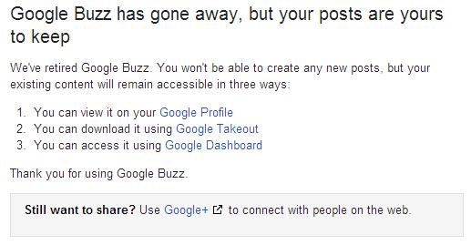 google-buzz-gone