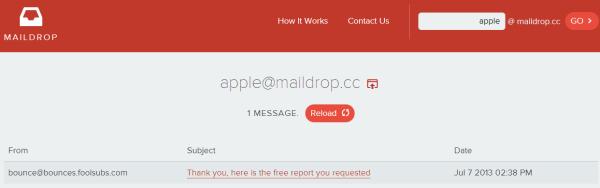MailDrop