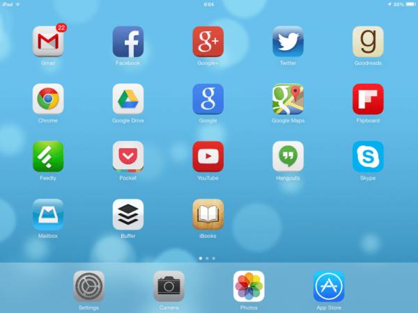 Dymanic Wallpaper iOS7 Good Example