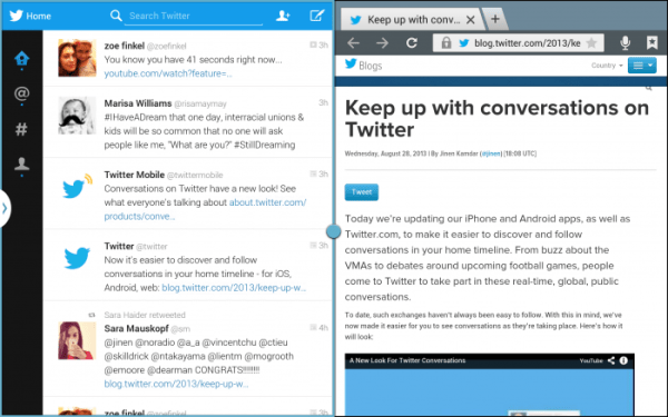 Twitter-Android-multi-screen