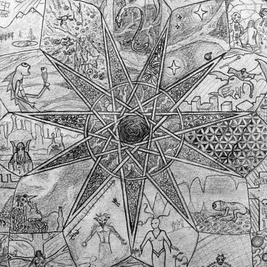 Devin Devine arts and wierd fiction