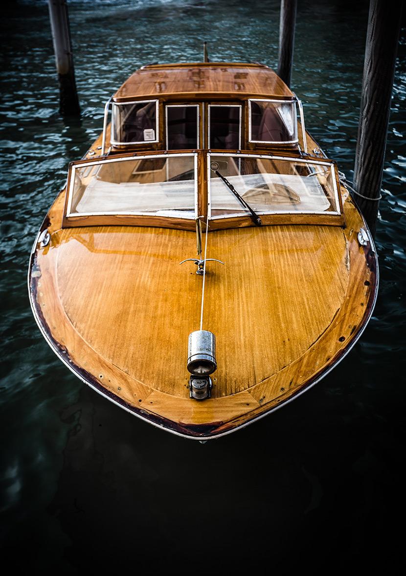 Wooden Vessel