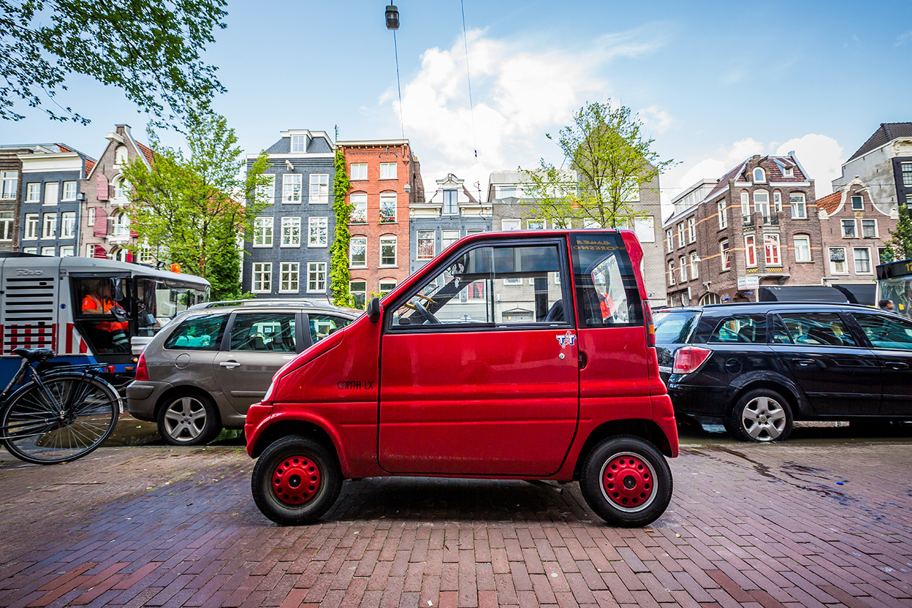 Small Red Car