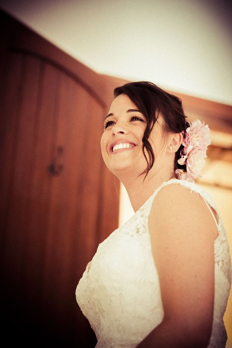 Kyle & Erin's Wedding - Erin Smiles