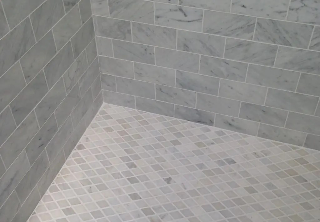 best grout color for your bathroom