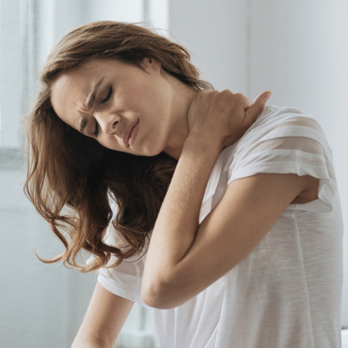 constant migraines and neck pain