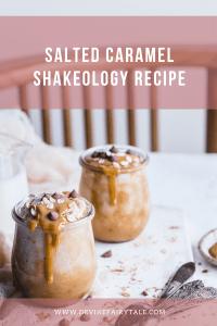Salted Caramel Shakeology