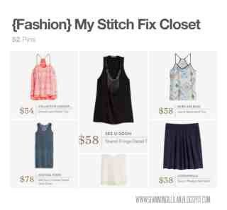 Stitch Fix Pinterest Closet