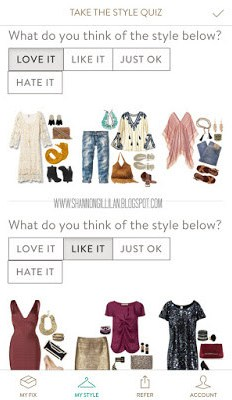 Stitch Fix Style Profile