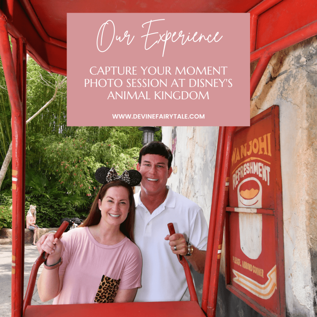Capture Your Moment Photo Session at Disney's Animal Kingdom
