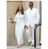 Mama Tina (and her (possible boyfriend?!) Solange and Alan Ferguson's wedding in New Orleans on Sunday, Nov. 16.