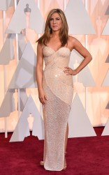 Jennifer Aniston at the 87th annual Academy Awards