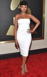 Jennifer Hudson at the 57th annual Grammy Awards