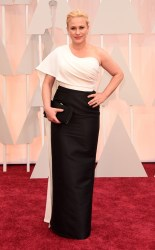 Patricia Arquette at the 87th annual Academy Awards