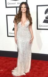 Rocsi Diaz at the 57th annual Grammy Awards.