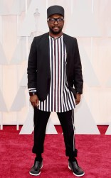 Will.I.Am at the 87th annual Academy Awards