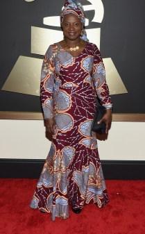 Angélique Kidjo winner at the 57th annual Grammy Awards.