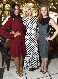 Zoe Saldana, Gwen Stefani, and Amy Adams
