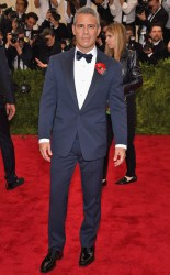 Andy Cohen at the 2015 Met Gala on May 4, 2015 at the Costume Institute Benefit Gala at the Metropolitan Museum of Art in New York.