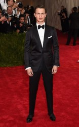 Ansel Elgort at the 2015 Met Gala on May 4, 2015 at the Costume Institute Benefit Gala at the Metropolitan Museum of Art in New York.
