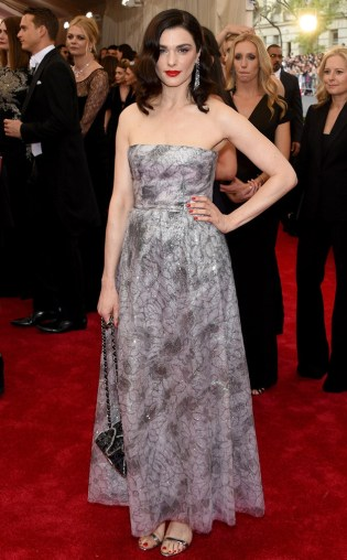 Rachel Weisz at the 2015 Met Gala on May 4, 2015 at the Costume Institute Benefit Gala at the Metropolitan Museum of Art in New York.