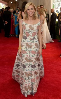 Tory Burch at the 2015 Met Gala on May 4, 2015 at the Costume Institute Benefit Gala at the Metropolitan Museum of Art in New York.