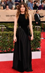 Kathryn Hahn at the 2017 Screen Actors Guild Awards (SGA Awards) Red Carpet on Jan. 29, 2017.