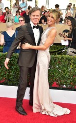 William H. Macy and Felicity Huffman at the 2017 Screen Actors Guild Awards (SGA Awards) Red Carpet on Jan. 29, 2017.
