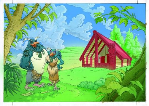 Karekare es un juego de Devir que tiene como protagonistas aves de Nueva Zelanda en peligro de extinción o ya exinta. Esto para dar visibilidad a las especies perjudicadas por el impacto humano. En
