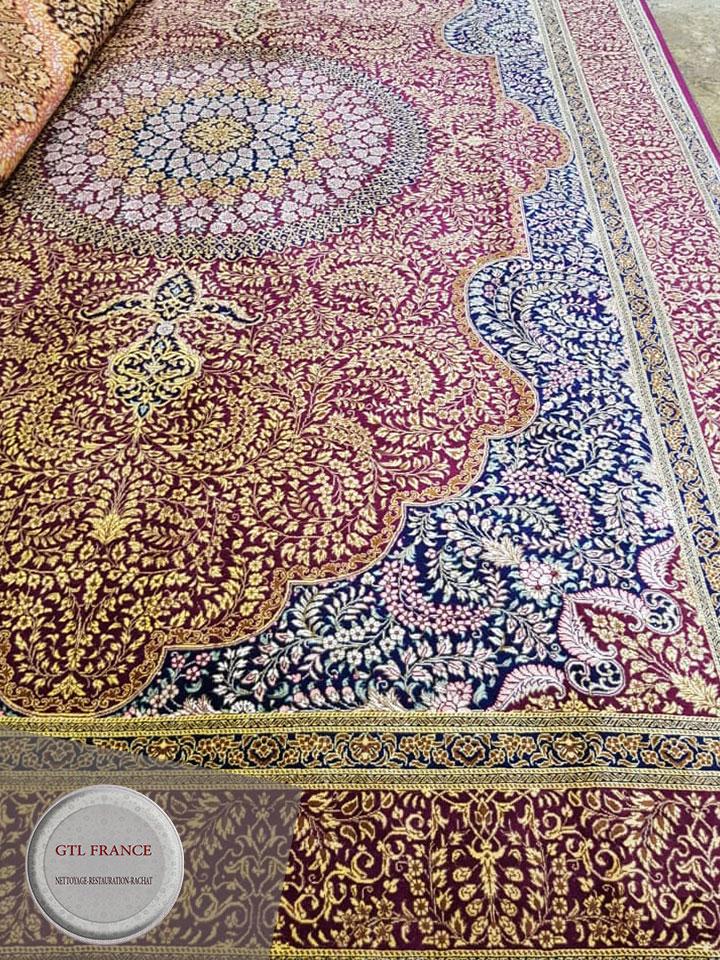 reparation tapis restauration tapis