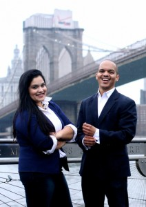 Jessica Santana and Evin Robinson Founders of Brooklyn on Tech