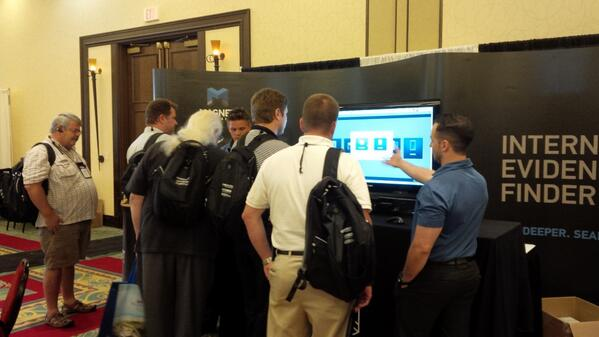 Magnet Forensics Booth at Techno Security 2014