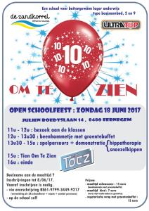 uitnodiging schoolfeest De Zandkorrel 18 juni 2017 jpeg