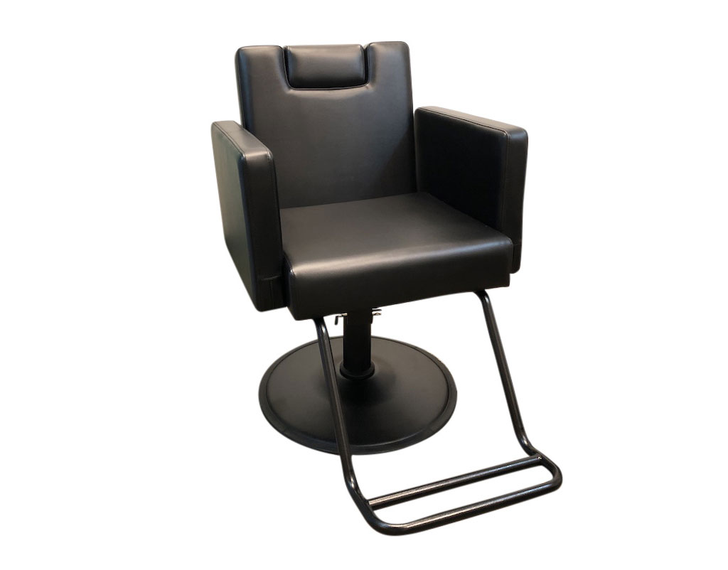Pleasing Black Reclining Salon Chair Hydraulic Barber Chair Styling Gmtry Best Dining Table And Chair Ideas Images Gmtryco