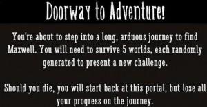 Don't Starve - doorway to adventure