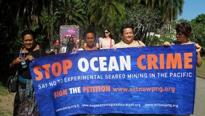 Deep sea mining targeted by activists at London conference - London Mining Network