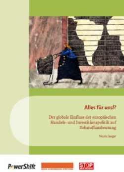 """Title of the study """"Alles für uns!? Der globale Einfluss der europäischen Handels- und Investitionspolitik"""" von Nicola Jaeger"""