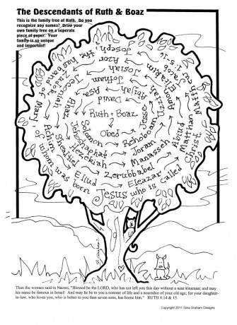 Ruth Was Part Of A Pretty Amazing And Unexpected Family Tree Check Out This Post From Devo Kids For More Details Printable To Help