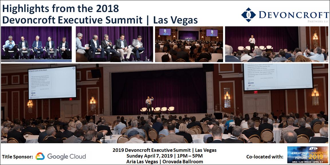 Highlight from 2018 Devoncroft Summit Las Vegas
