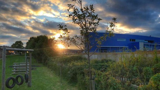 Sunset-Over-Exeter-Ikea
