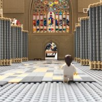 Exploring The (Exeter) Lego Cathedral.