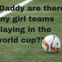 Conversations With A Small Person: The World Cup