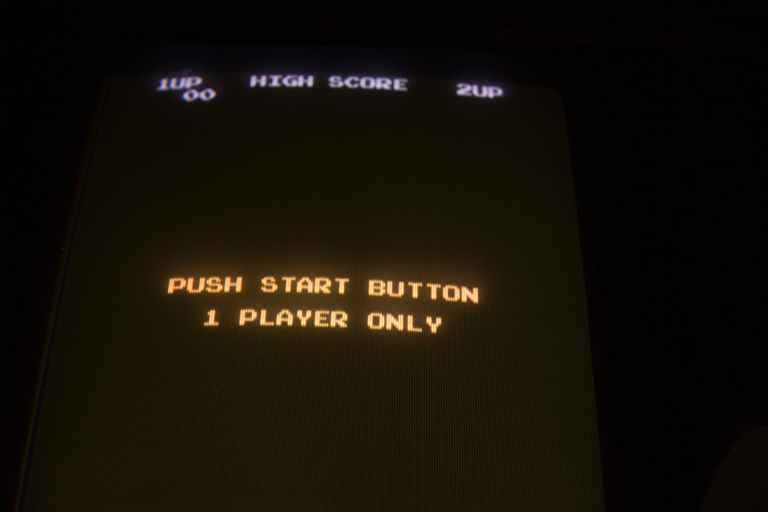 push start button screenshot