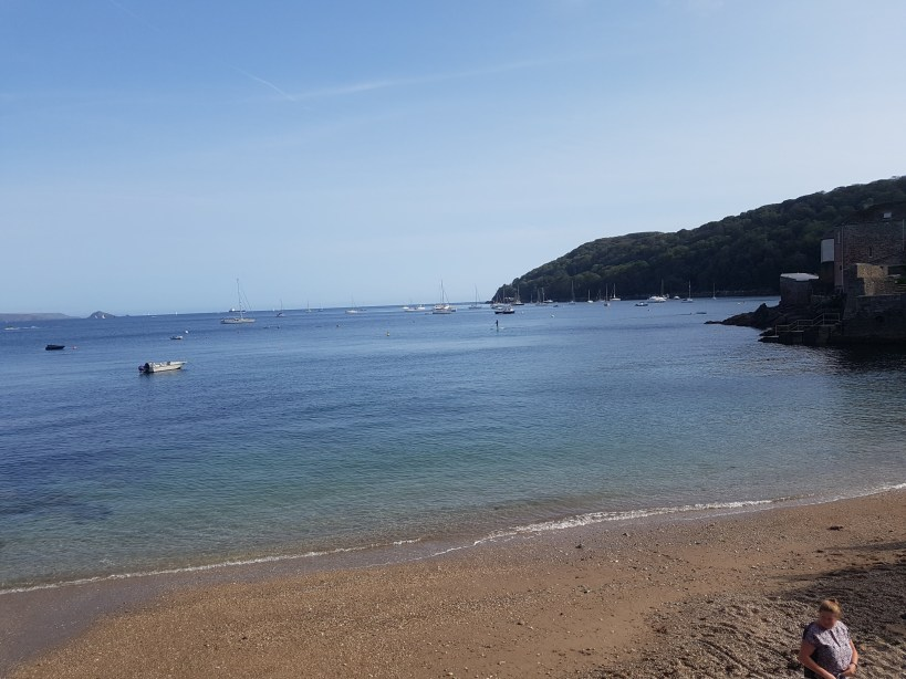 Kingsand Cawsand Beach is an easy walk from Plymouth