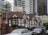 I am fascinated by this mock Tudor building on Toorak Road ... occupied by an Oriental tea shop and food outlet!