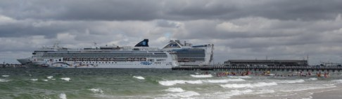 The Norwegian Star had been towed back into port after breaking down