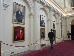 Parliamentary gallery