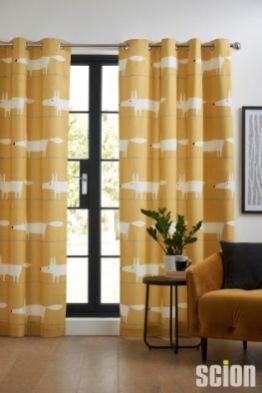 Scion curtains
