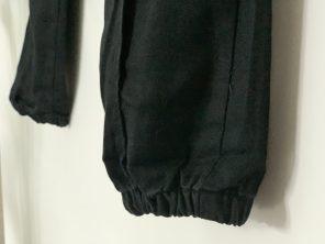Femme Luxe Finery Black Cargo Trouser